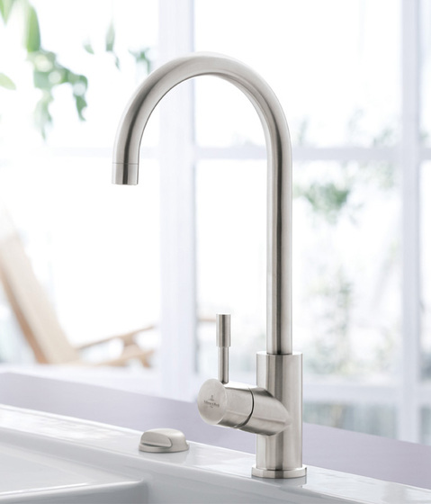Umbrella Single-lever mixer for sink by Villeroy & Boch | Kitchen taps