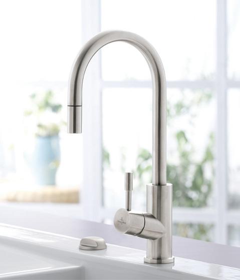 Umbrella Flex Single-lever mixer for sink by Villeroy & Boch | Kitchen taps