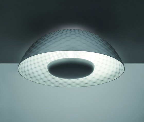 Cosmic Rotation riflessa ceiling lamp by Artemide | General lighting