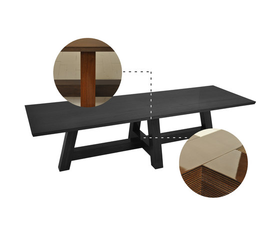 F004 table by FOUNDED | Restaurant tables