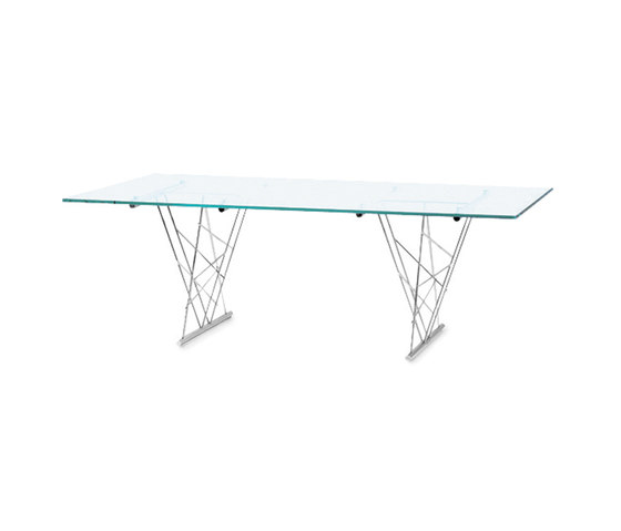Avalon TR 220 glass table by Frag | Dining tables
