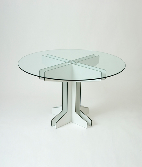Grid Cafe Table by Miranda Watkins | Dining tables