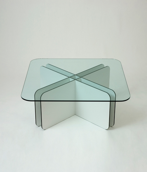Grid Cross Table by Miranda Watkins | Lounge tables