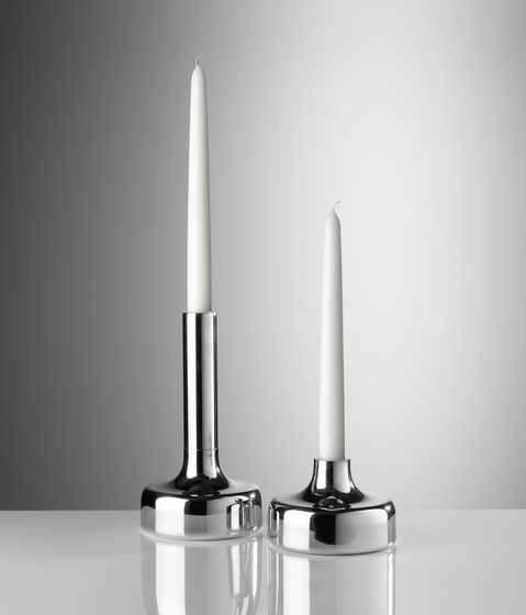 Spin Candlesticks Square by Miranda Watkins | Candlesticks / Candleholder