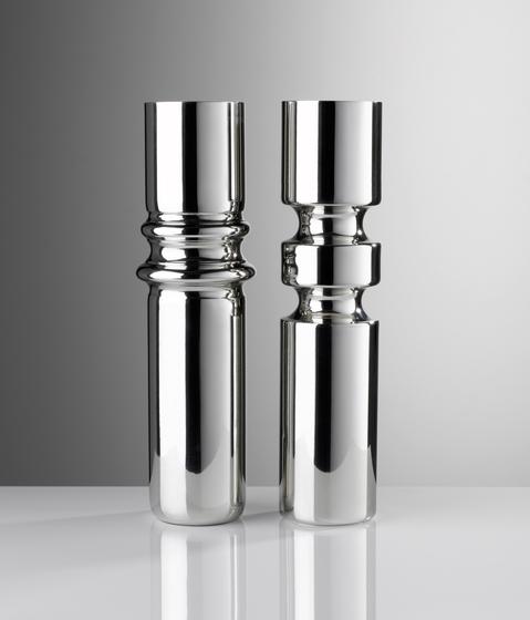 Rib Vase & Double Groove Vase von Miranda Watkins | Vasen