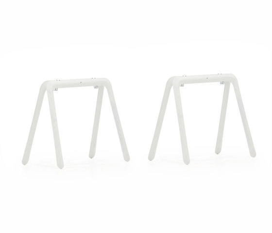 Koza | white de Zieta | Caballetes de mesa