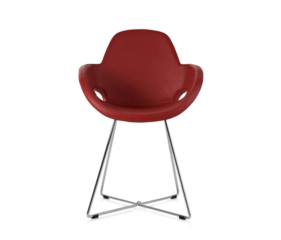Cara by Frag | Visitors chairs / Side chairs