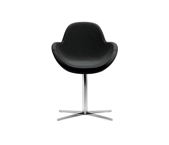 Darling 1 swivel armchair by Frag | Restaurant chairs