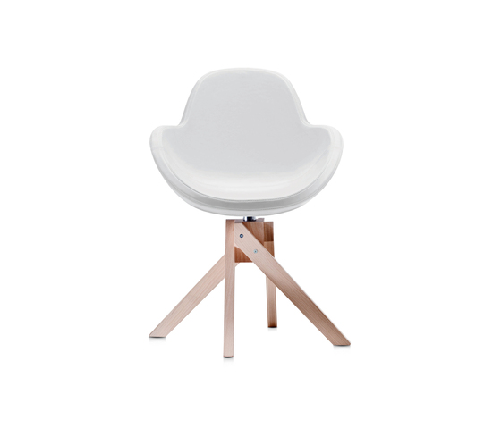 Darling 4 swivel armchair by Frag | Chairs