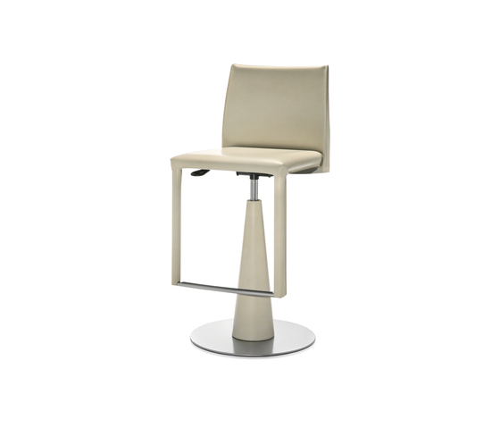 Evia GP height-adjustable stool von Frag | Barhocker