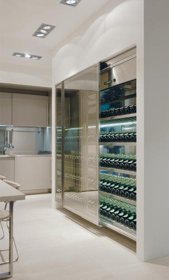 Vina by Arclinea | Wine cabinets
