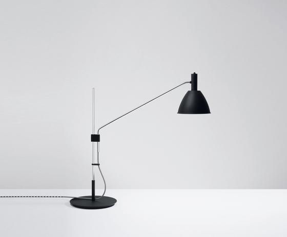 Tischleuchte Bauhaus t mit LED von Lumini | Arbeitsplatzleuchten