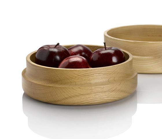 Curve Oak Bowls by Miranda Watkins | Bowls