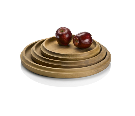 Curve Walnut Platters de Miranda Watkins | Bowls