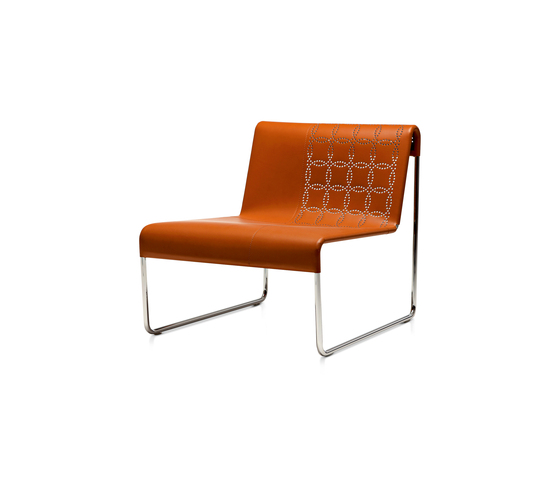 Perfo L by Frag | Lounge chairs