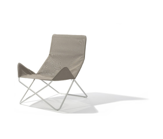 In-Out lounge chair outdoor di Lampert | Poltrone da giardino