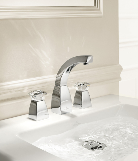 Square Exclusive by Villeroy & Boch | Wash-basin taps