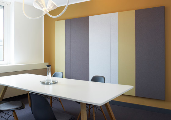 Pure meeting combinations by acousticpearls | Wall panels