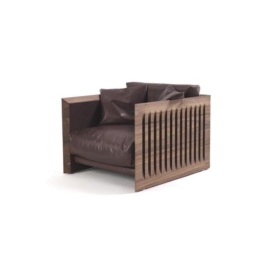 Soft Wood di Riva 1920 | Poltrone lounge