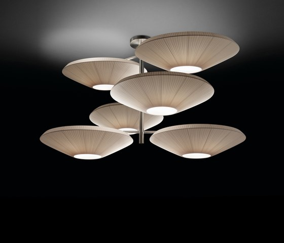 Siam pendant lamp 6 Luces by BOVER | General lighting