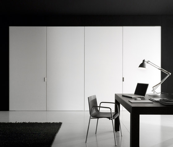 Anthea wall partition system by Boffi |