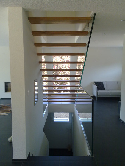 Mistral Freestanding 1 by Siller Treppen | Staircase systems
