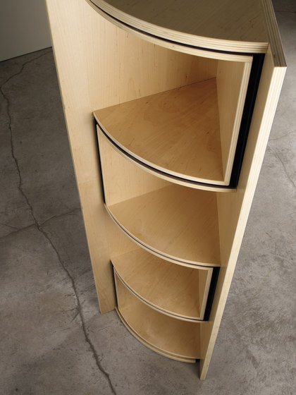 In-canto Corner cupboard by adele-c | Shelving