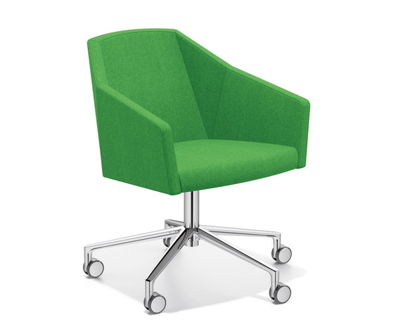 Parker VI 2731/10 by Casala | Visitors chairs / Side chairs
