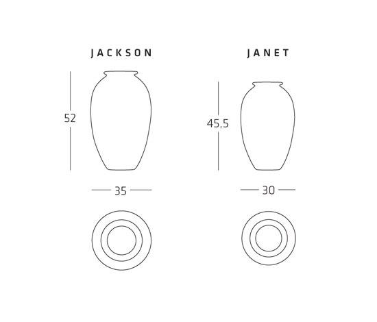 Jackson, Janet Vases de adele-c | Vases