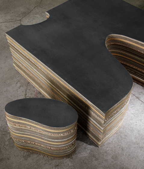 Lachea Polyfunctional element by adele-c | Modular seating systems
