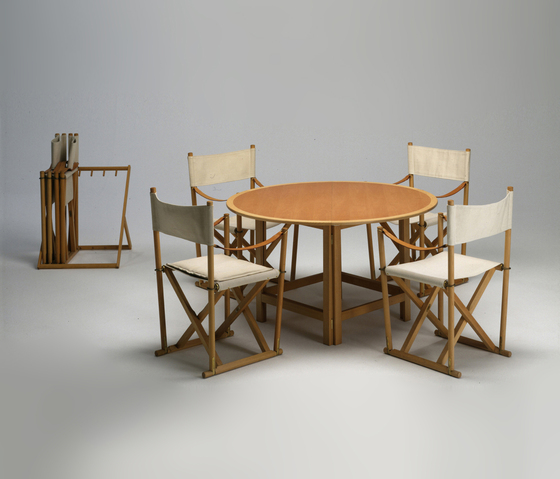 The Folding Dining Table by Carl Hansen & Søn | Dining tables
