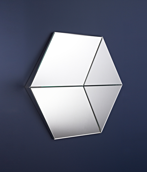 Hexagon by Deknudt Mirrors | Mirrors