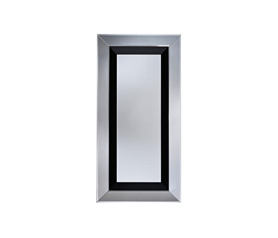 Jewel Black L de Deknudt Mirrors | Miroirs