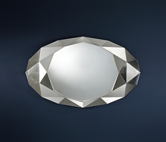 Precious silver by Deknudt Mirrors | Mirrors