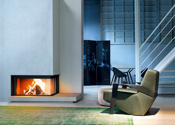 Forma 95 | Wood by MCZ | Wood fireplaces