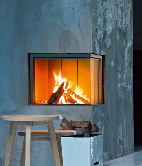 Forma 75 | Wood by MCZ | Wood fireplaces