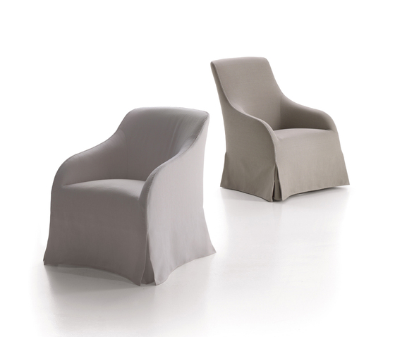 Agathos by Maxalto | Lounge chairs