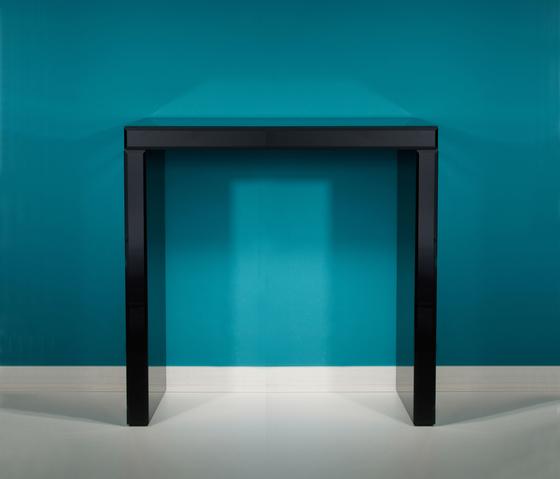 Tavolo Black S by Deknudt Mirrors | Console tables