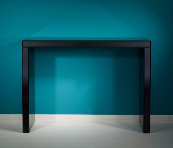 Tavolo Black by Deknudt Mirrors | Console tables