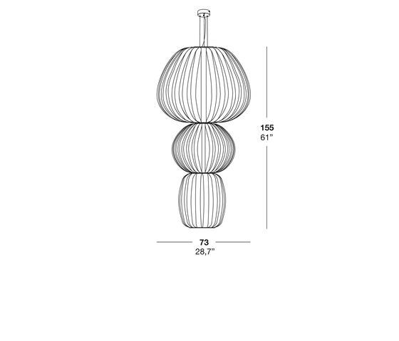 Totem S 3 de lzf | Iluminación general