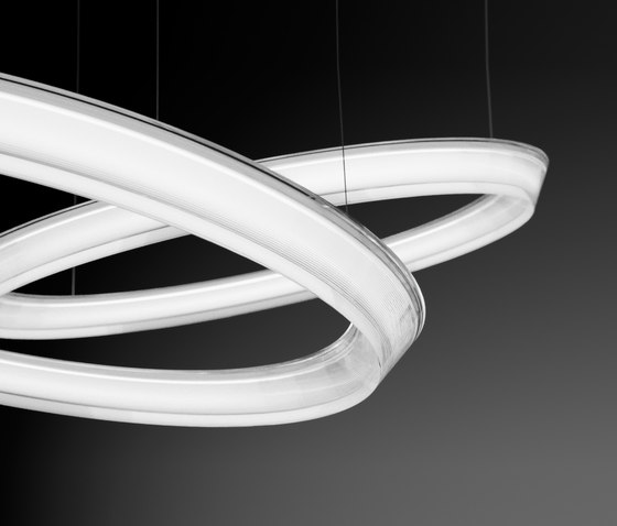 Halo hanging lamp double by Vibia | General lighting