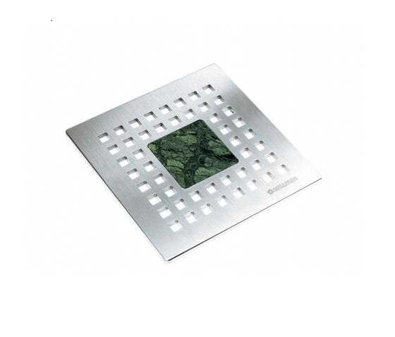Quadra Stone 150 Verde Forest by DALLMER | Plate drains