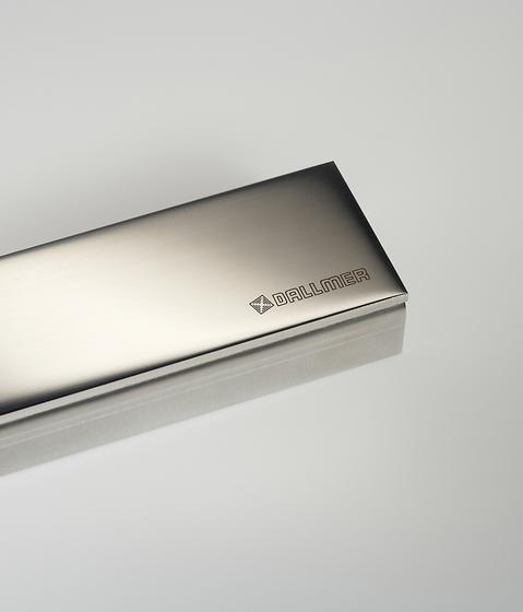 CeraLine Design polished by DALLMER | Linear drains