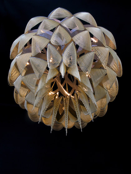 Protea - 1000 - suspended by Willowlamp | Suspended lights
