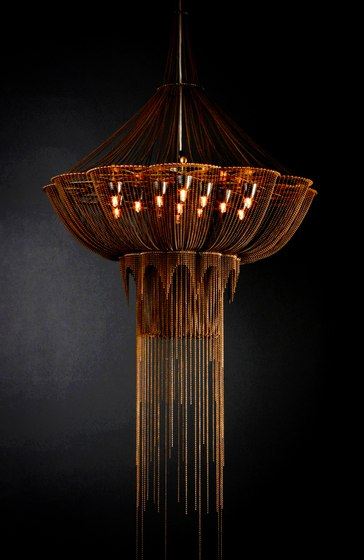 Flower of Life Chandelier - 700 by Willowlamp | General lighting