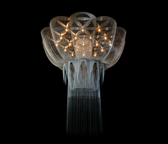 Custom Flower of Life - 2700 di Willowlamp | Oggetti luminosi