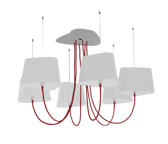 Nuage Lustre 6 Petit de designheure | Lustres suspendus