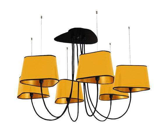 Nuage Chandelier 6 small von designheure | Deckenlüster