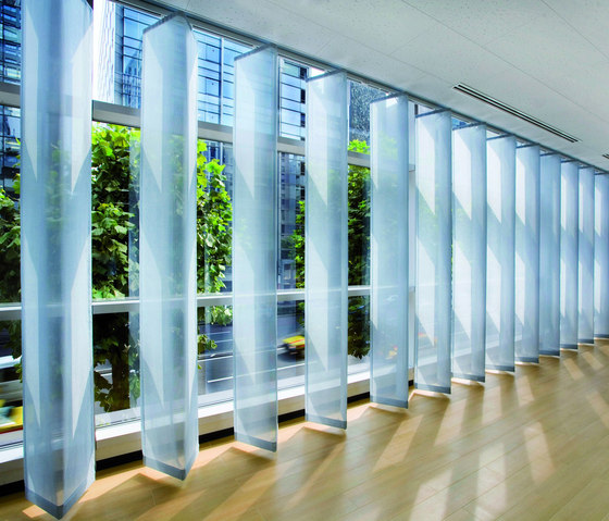 Folding Panel System Silent Gliss 2650 by Silent Gliss | Panel glides