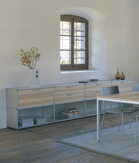 spinoff shelving system by formfarm | Cabinets